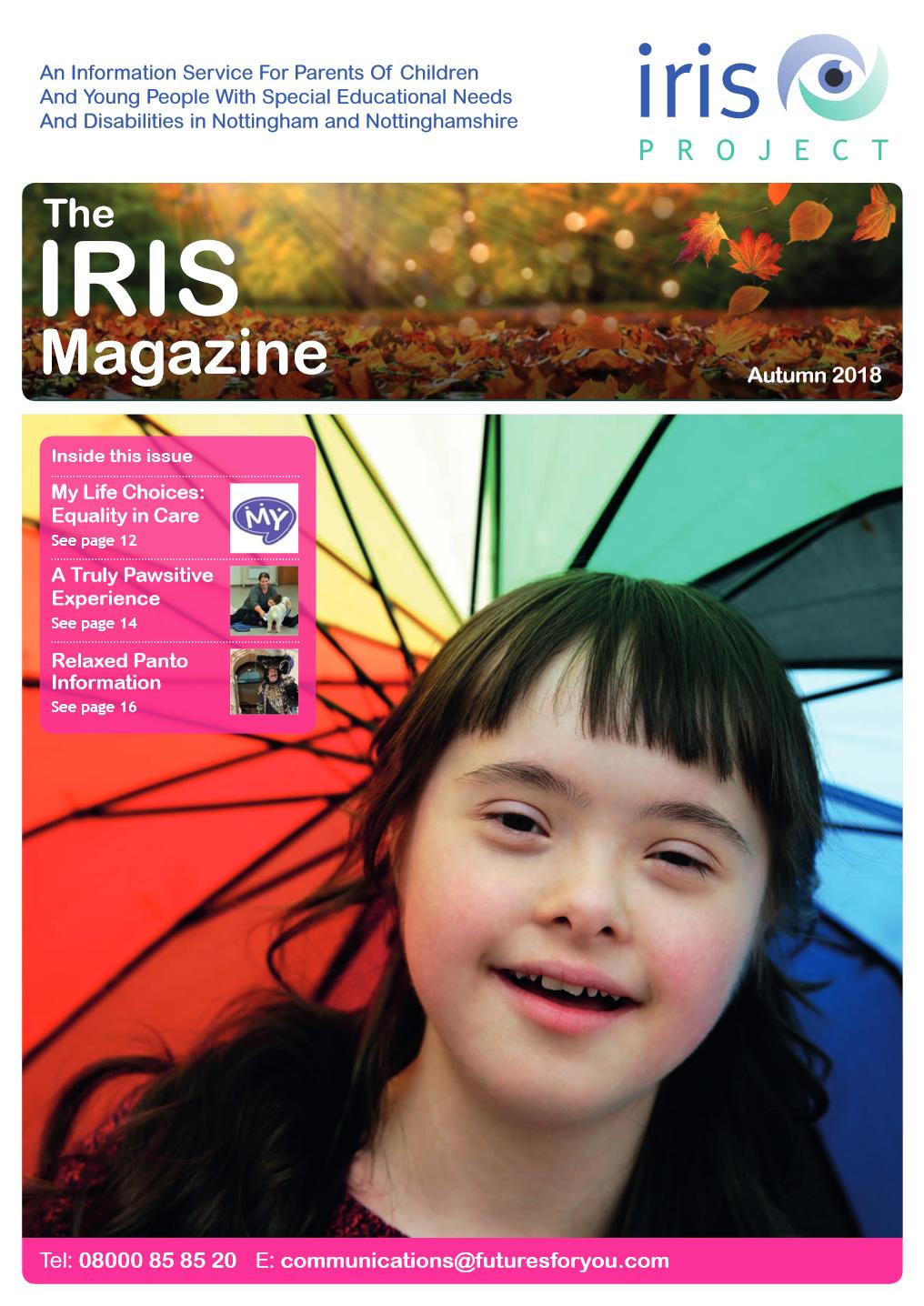 IRIS Magazine | December 2018 cover image